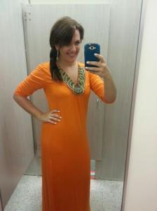orangedress