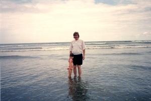 at ocean
