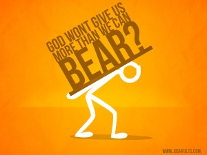 more than to bear