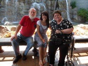 grandma, harold, and me