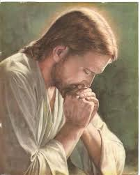 jesus prays