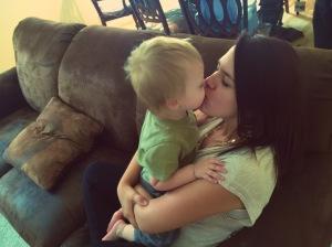 kissing nephew