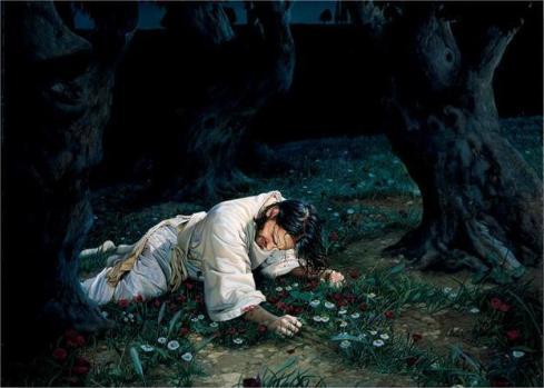 savior in garden